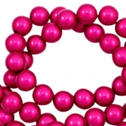 Perline Miracle 3D 6 mm fucsia rosa